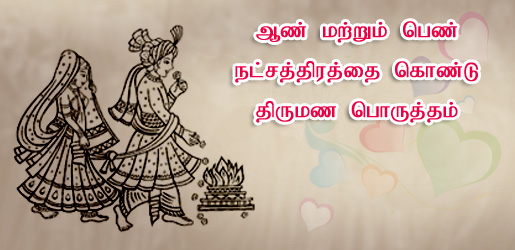 Horoscope Matches For Marriage In Tamil